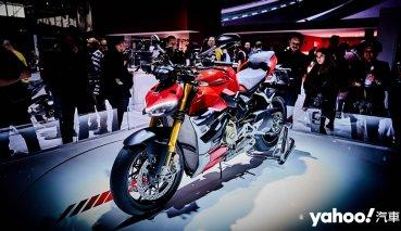 【米蘭車展】義式街道戰!2020 Ducati Streetfighter V4系列廝殺上陣!