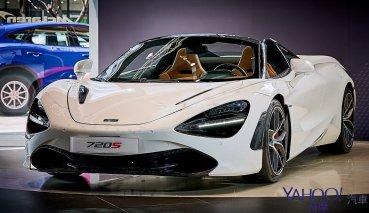 【新車圖輯】絕美剽悍的速度機器!McLaren 720s Spider 敞篷極速超跑正式導入!