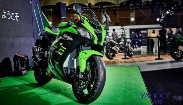 【2019國際重型機車展】綠色軍團全面來襲!Kawasaki全車系展示暨2019 ZX-10R發表