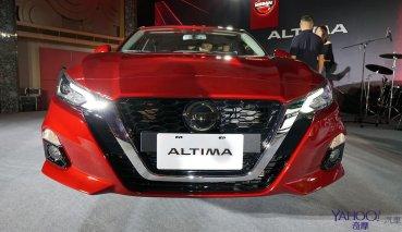 【新車圖輯】跑格動力舒適身驅!Nissan Altima 116萬9起展現中大型房車氣魄!