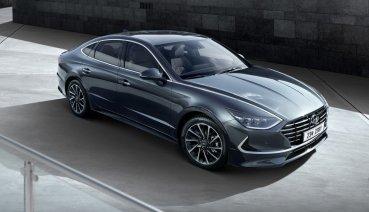 Hyundai Sonata第八代亮相 時尚高科技入注