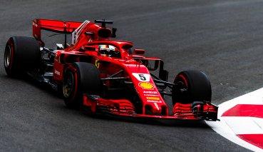 亞塞拜然GP自由練習三Vettel無敵