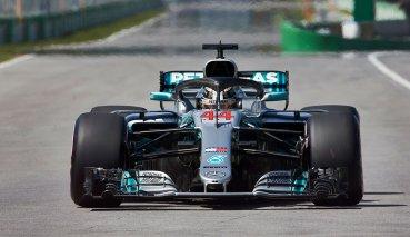 法國GP自由練習一Mercedes車手強勢