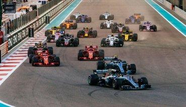 阿布達比GP封關之戰Hamilton打敗Vettel獲勝