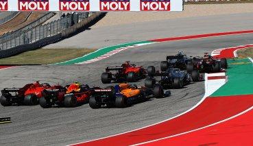 底板受損Verstappen錯失贏得美國GP的機會