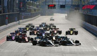 巧守隊友反攻Bottas於亞塞拜然GP贏得本季第二勝