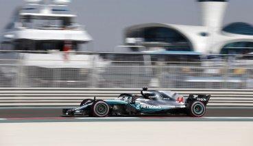 阿布達比GP自由練習三Hamilton領先