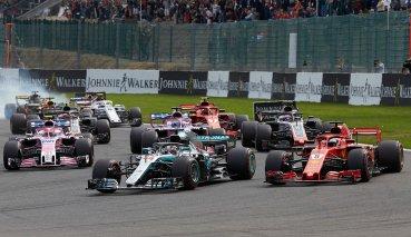 關鍵超車助Vettel主宰比利時GP順利獲勝