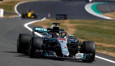 勁敵強襲Hamilton力守主場英國GP竿位