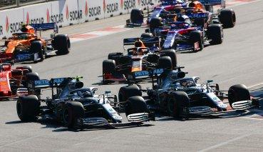 """Hamilton:起跑時對Bottas""""太過友善"""""""