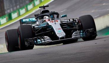 險勝Vettel不到0.1秒Hamilton奪巴西GP竿位