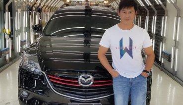【明星聊愛車】沈世朋滿意愛車Mazda CX-9  從前改車無底洞, 現改裝只為家人安全