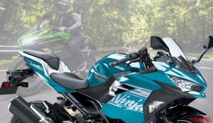 KAWASAKI 2021年式「Ninja 400」新色登場!