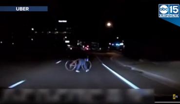 Uber致命事故,行車紀錄器影片曝光