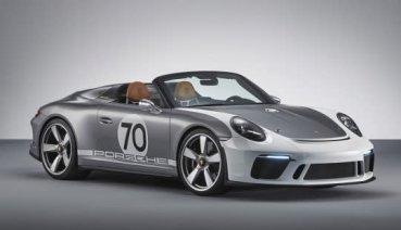 911 GT3敞篷化 Speedster Concept醞釀中