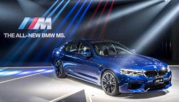 生而不凡 全新BMW M5正式在台上市