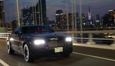 暗夜女神降臨 Rolls-Royce Black Badge家族黑勢力渲染東京