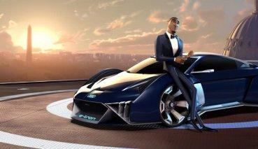Audi首為好萊塢電影設計虛擬概念車、RSQ e-tron成為《變身特務》專屬座駕!