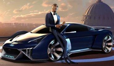 2020年開春最強動畫電影《變身特務》,Audi RSQ e-tron成特務指定座駕
