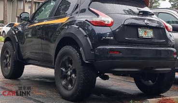 「上山下海」都可以!Nissan Juke最壯觀「大腳改」Offraod式樣