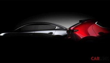 SkyActiv-X引擎即將量產?預告全新大改款Mazda 3洛杉磯車展亮相
