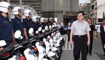 GOGORO警車一個月只能跑315公里?台北市警察局:沒這回事