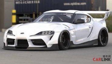 這才是「牛魔王」!Toyota Supra Mk5+「Rocket Bunny寬體」