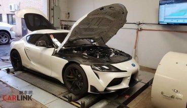 沒有「黑科技」!Toyota GR Supra引擎「全原廠」最猛改誕生