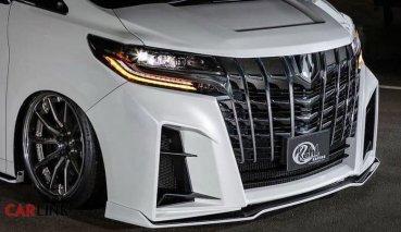 「爆錶行情」一定有!Toyota Alphard Mk3「奢華新裝」by Kuhl Racing