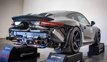 連Porsche GT2 RS也得「掉漆」! 991.2 Turbo S「千匹輪馬」豪改版