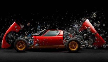 美得令人屏息!透過藝術家角度感受Lamborghini Miura超跑內在美