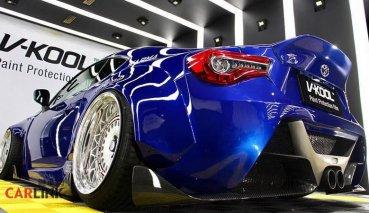 根本是「超跑」的FU!Toyota 86「高檔次」外觀改