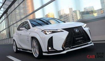 有「肌肉」的概念!Toyota UX200有外觀套件可改了
