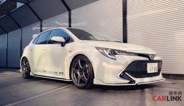 「神車化」整容!Toyota Auris專用Blitz空力套件曝光