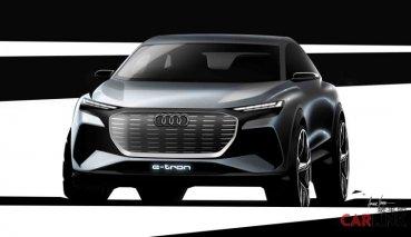 2019日內瓦車展Audi小型純電休旅Q4 e-tron concept草圖曝光!