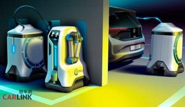 科技始終來自於惰性 VW研發可以自動幫車輛充電的機器人