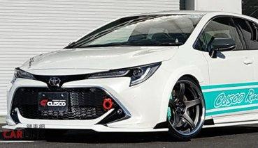 「鋼砲架勢」更有!Toyota Auris空力改「CUSCO套件」發表
