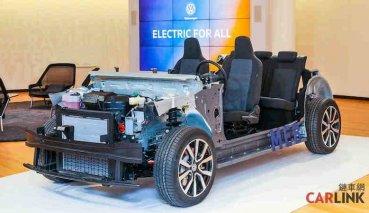 VW電動汽車MEB模組化底盤亮相,ID.電動車型將進入量產階段