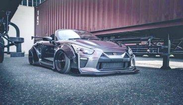 又Q又萌,Nissan R35 GT-R縮小版by LB Walk