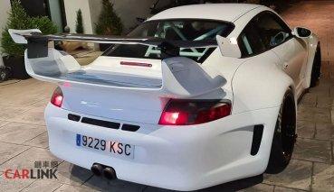 「老青蛙」變「猛牛蛙」!Porsche 996「無敵寬」超暴龜式樣