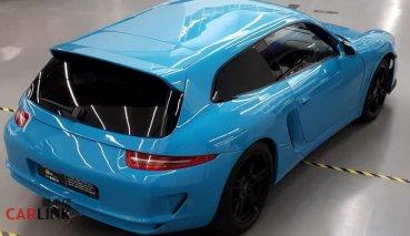 「小青蛙」變「大牛蛙」!Porsche 911超稀奇「三門獵跑」客製版