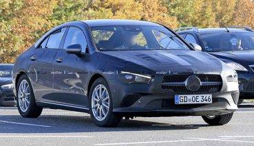 偽裝車近乎全裸!M.BENZ將在近期發表新一代CLA-Class