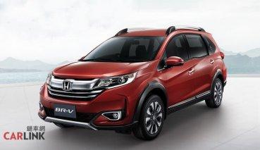 入門七人座新秀,「馬來西亞」小改款 HONDA BR-V 展開預售!