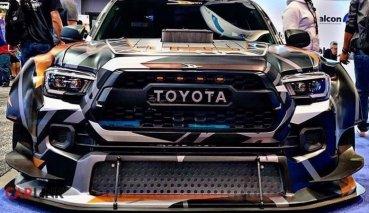 超緊繃「猛獸版」!Toyota Hulix「非主流改」照樣吸睛