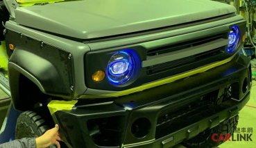 顏值最高的「貨車」!Suzuki Jimny Mk4第一輛「Pick Up」改造版