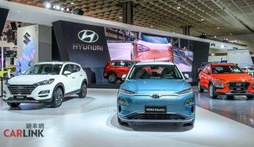 【2020台北車展】純電KONA、Hybrid雙車型確認2020年上市,現代HYUNDAI展台新車很多