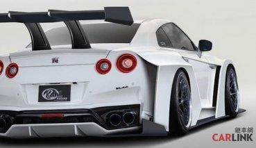 史上「最浮誇」戰神改!Nissan R35 GT-R Project 2020「超暴龜」套件曝光