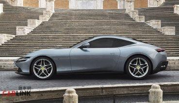 法拉利全新前中置引擎跑車,Ferrari Roma義大利羅馬正式亮相