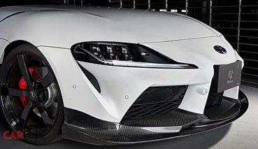 根本「寄生上流」!Toyota GR Supra升級新補品「3D Design Parts」