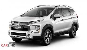 七人座MPV變臉SUV?MITSUBISHI Xpander Cross 印尼開賣!
